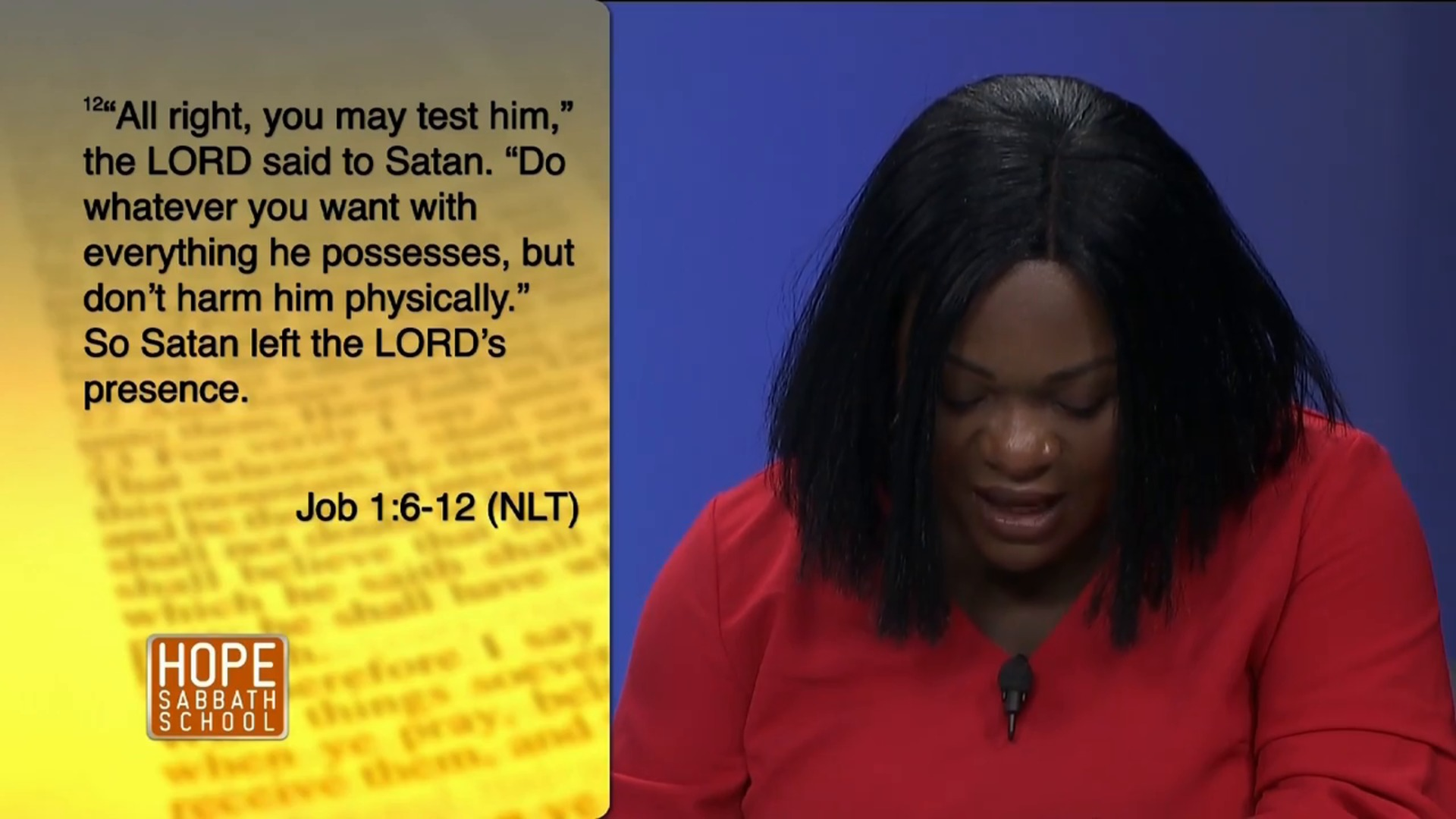 Lesson 8 - Satan, A Defeated Enemy (1st Qtr. 2019)